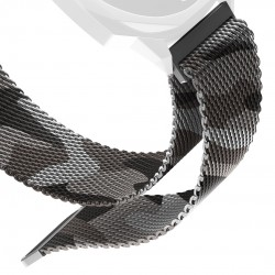ICON LOOP BAND CAMOUFLAGE SILVER