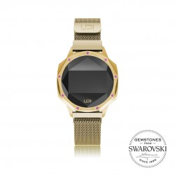 ICONIC GOLD LE SET WITH SWAROVSKI® TOPAZ LOOP BAND