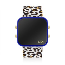 UPWATCH LED GBLUE&LEOPARD
