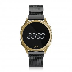 UPWATCH ICON GOLD&BLACK LOOP BAND