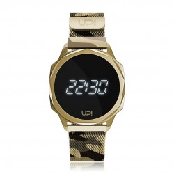 UPWATCH ICON GOLD CAMOUFLAGE LOOP BAND