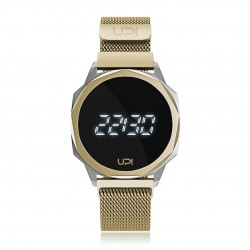 UPWATCH ICON SILVER&GOLD LOOP BAND