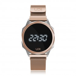 UPWATCH ICON SILVER&ROSE LOOP BAND