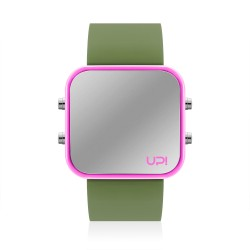 UPWATCH LED PINK&GREEN
