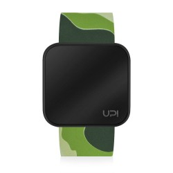UPWATCH TOUCH BLACK&GREEN CAMOUFLAGE