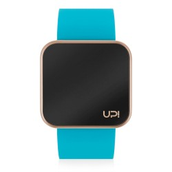 UPWATCH TOUCH MATTE ROSE&TURQUOISE