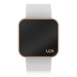 UPWATCH TOUCH MATTE ROSE&WHITE