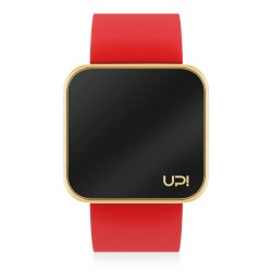 UPWATCH TOUCH SHINY GOLD&RED