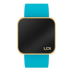 UPWATCH TOUCH SHINY GOLD&TURQUOISE