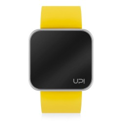 UPWATCH TOUCH SHINY SILVER&YELLOW