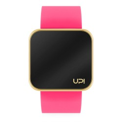 UPWATCH TOUCH SHINY GOLD&NPINK